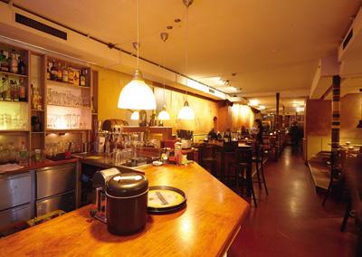 Die Bar im Tipasa